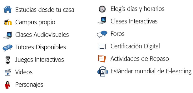 Tecnología Cursos virtuales